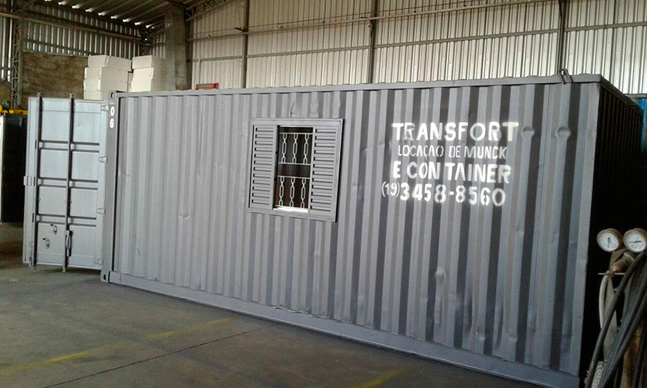 Alugar container para obra