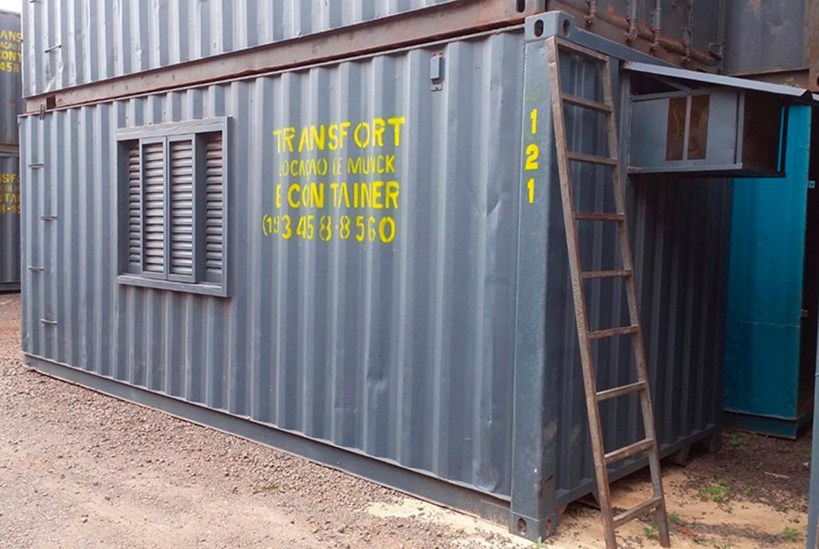 Alugar container preço