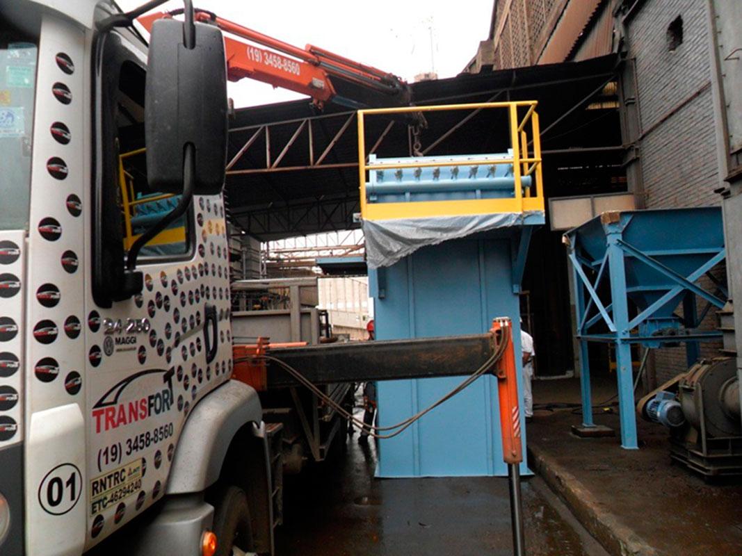 Locação de caminhão munck com cesto