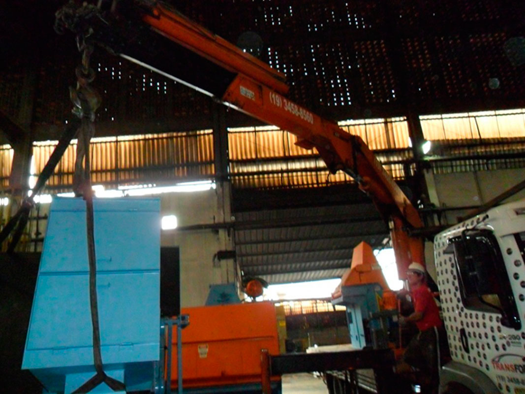 Remoção industrial