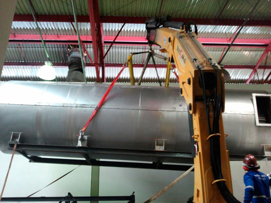 Transporte de maquinas pesadas sp