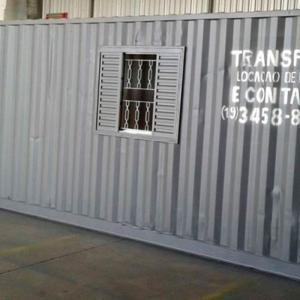 Containers em americana