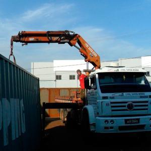 Serviço de remoção industrial