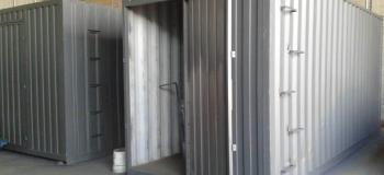 Aluguel de container almoxarifado