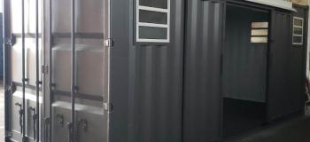 Aluguel de container loja