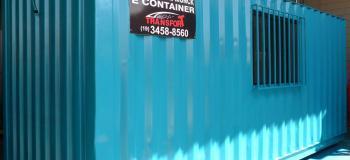 Container para alugar preço