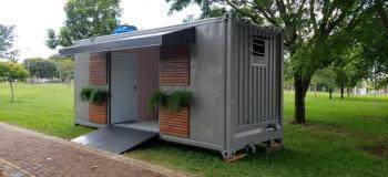Venda e aluguel de containers